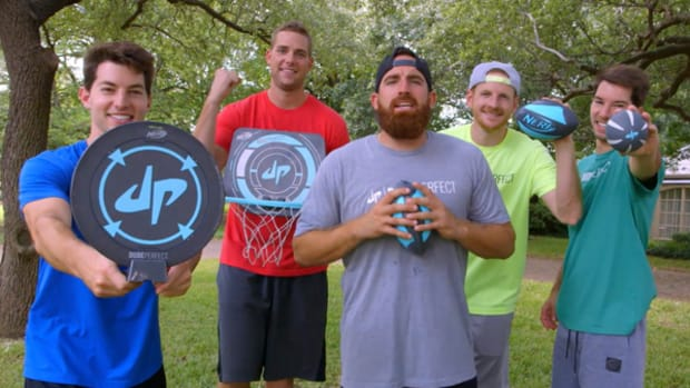Nerf and Dude Perfect Team Up on New Sports Line