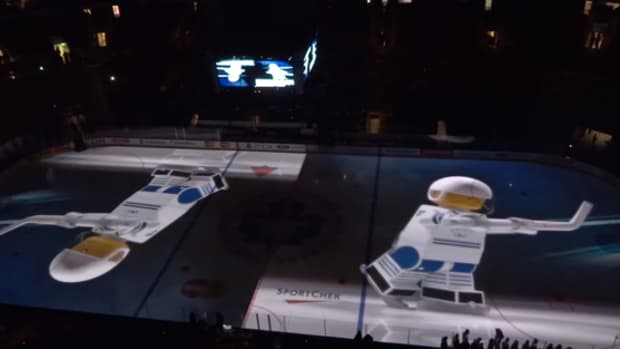 Toronto Marlies Lego Rink Takeover is Awesome