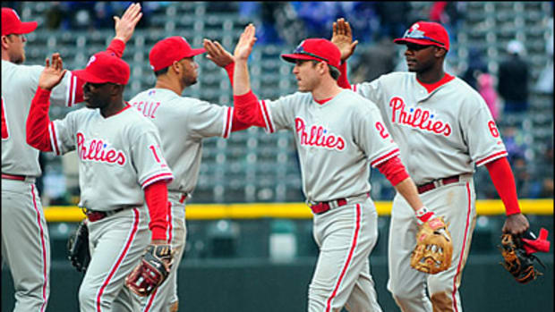 Phillies Flying High on the Road
