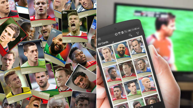 Get a KICK Out of Soccer Season with Topps App