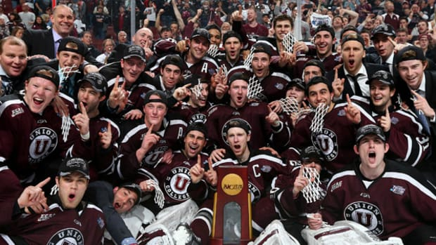 Union Wins First NCAA Men's Hockey Championship