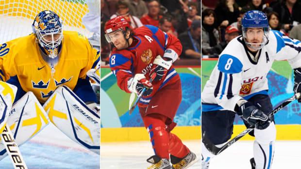 Olympic Men's Hockey 2014: Three to Watch