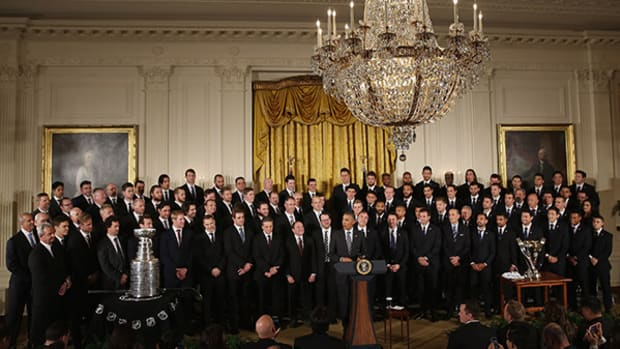 LA Kings and Galaxy Honored at White House