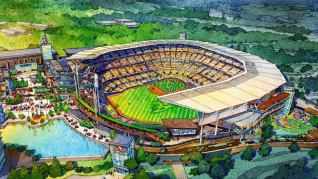 Atlanta Braves Give First Look at New Ballpark