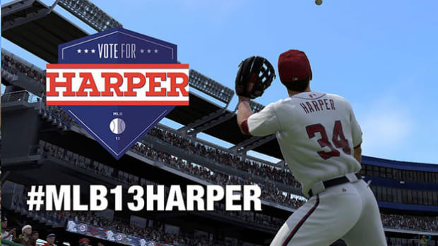 Q&A with the Washington Nationals Bryce Harper about MLB13: The Show