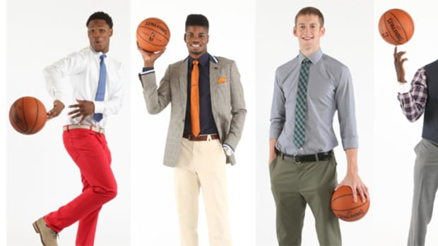 Future NBA Stars Talk Draft, Fashion at Media Day