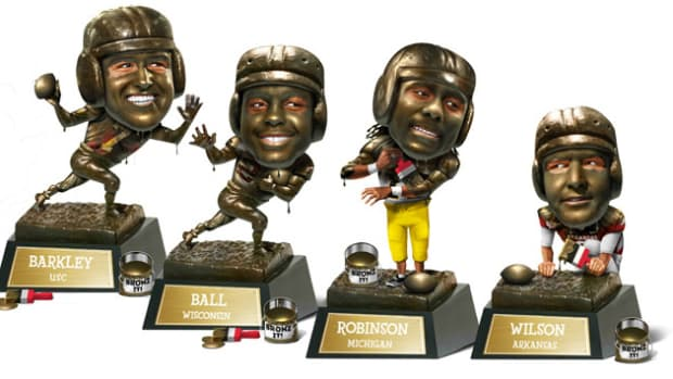 College Football Preview: Barkley and Ball Lead 2012 Heisman Trophy Hopefuls