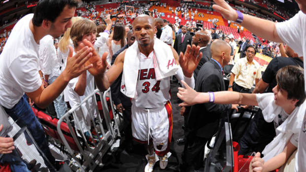 Heat Guard Ray Allen Talks About Winning His Second Title and Returning to Miami