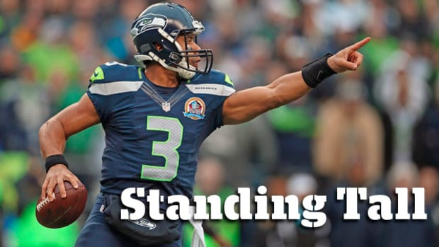 NFL Preview 2013: Seattle Seahawks Quarterback Russell Wilson, Standing Tall