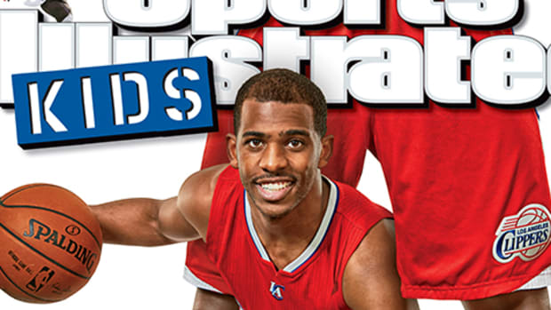 First Look: Chris Paul on SI Kids' May 2015 Cover