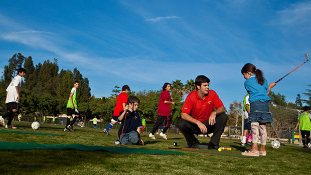 TGA Teaches Kids Golf, Tennis, and Life Lessons After School