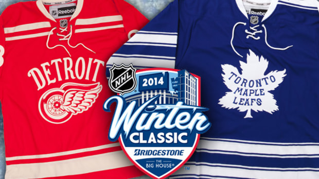 Creating the 2014 Winter Classic Jerseys