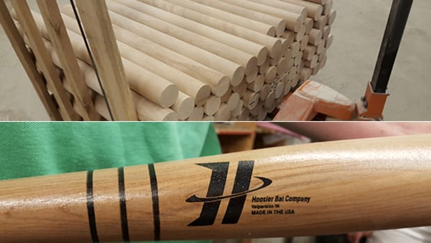 Learning How Baseball Bats are Made at the Hoosier Bat Company