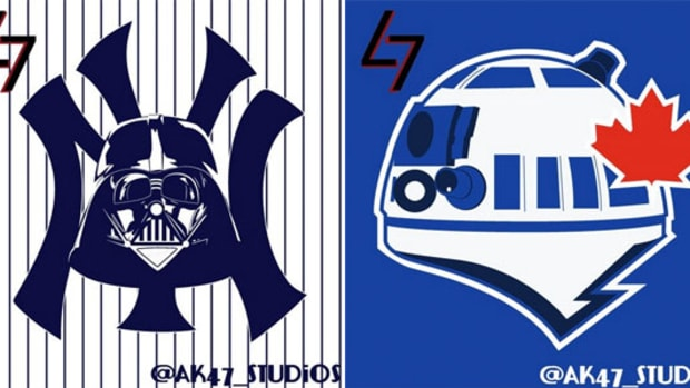 MLB Logos Look Good With Star Wars Characters