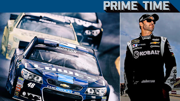 Driver Jimmie Johnson is on a Quest for a Seventh Championship