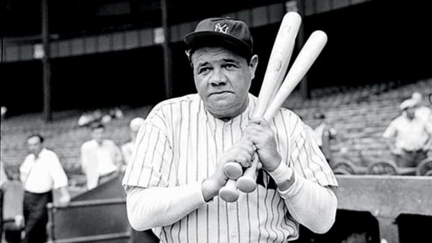Video of the Day: Babe Ruth Takes His Cuts