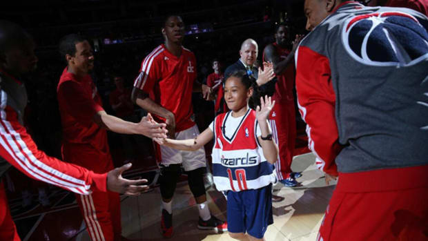 Wizards Sign 10-Year-Old Amaris Jackson to One-Day Contract