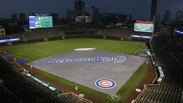 Best of Wrigley Field's and Cubs' Future on Display in Rain-Delayed Game