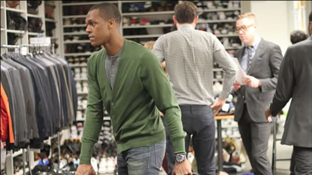Rajon Rondo Adds Intern At GQ To His Resume