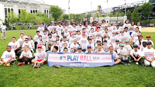MLB Kicks Off Play Ball Youth Baseball Initiative