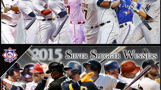 Now Batting: MLB's 2015 Silver Sluggers