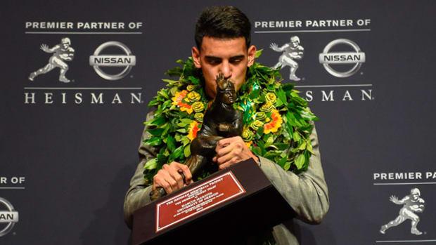 Oregon QB Marcus Mariota Wins Heisman