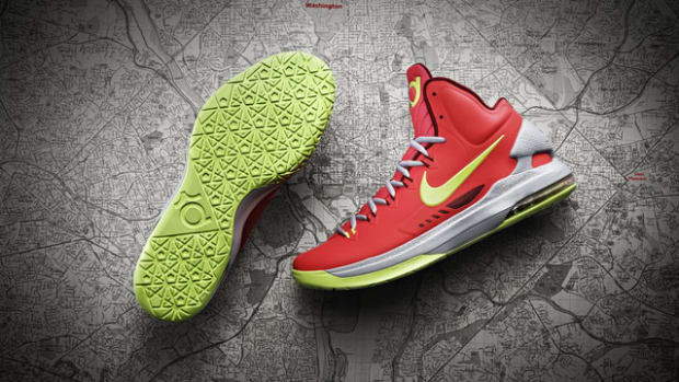Check out Kevin Durant's new Nike sneaker, the KD V
