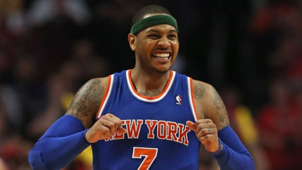 Carmelo Anthony Stays in NYC