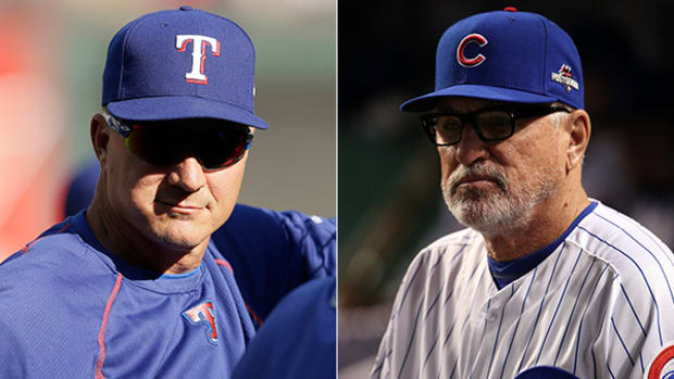 Jeff Banister and Joe Maddon Named Managers of the Year