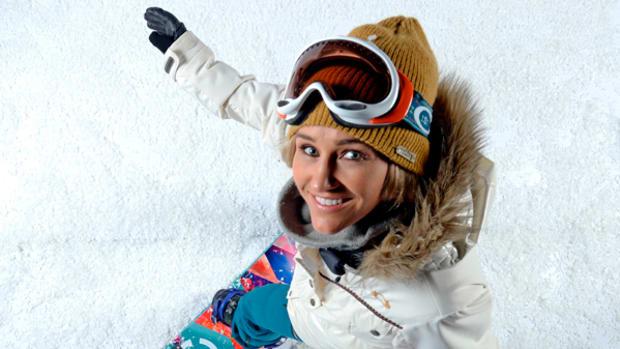 Gretchen Bleiler Takes Flight