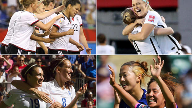 2015 Women's World Cup: The Final Four