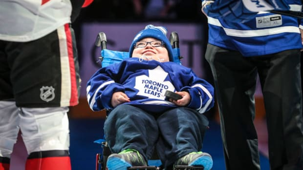 Maple Leafs Give 11-Year-Old Experience of a Lifetime