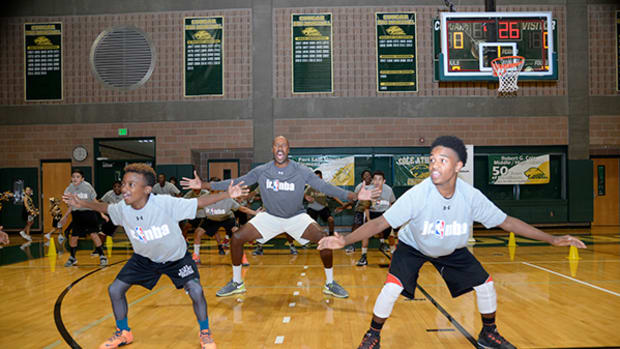 Jr. NBA Event in San Antonio Reaches Kids from Military Families
