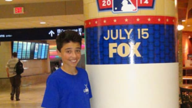 Kid Reporter Max Ferregur On the Scene at the All-Star Game