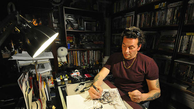 10 Minutes with Teenage Mutant Ninja Turtles Co-Creator Kevin Eastman