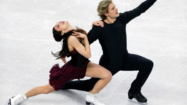 Meryl Davis and Charlie White: Solid Gold Dancers