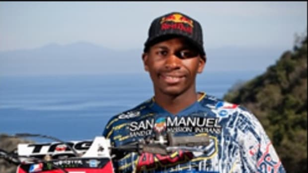 Q & A with motocross star James Stewart