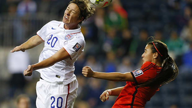Abby Wambach Monitors Her Head Hits Leading to World Cup