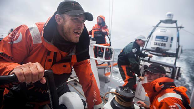 Volvo Ocean Race Stops in Newport