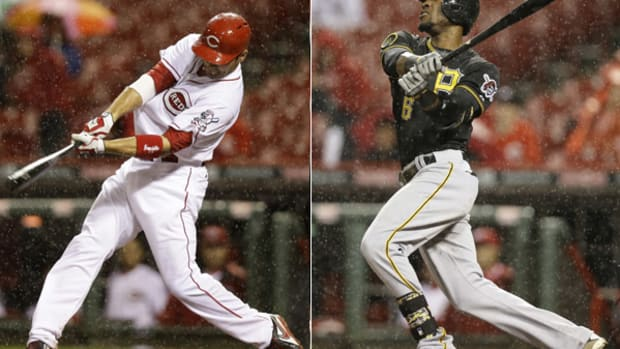 Crazy Game of the Week: Reds and Pirates Hit 10 HRs Before Rain Suspends Play