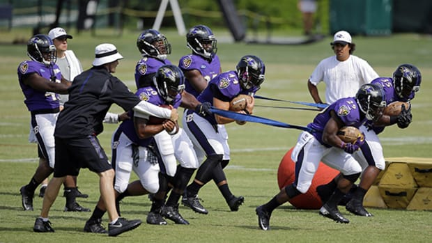 Attending Summer Camp with the Baltimore Ravens