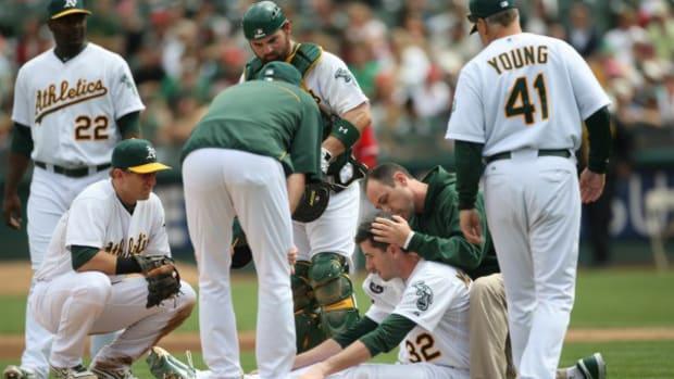 Major League Baseball Approves Pitchers Headgear