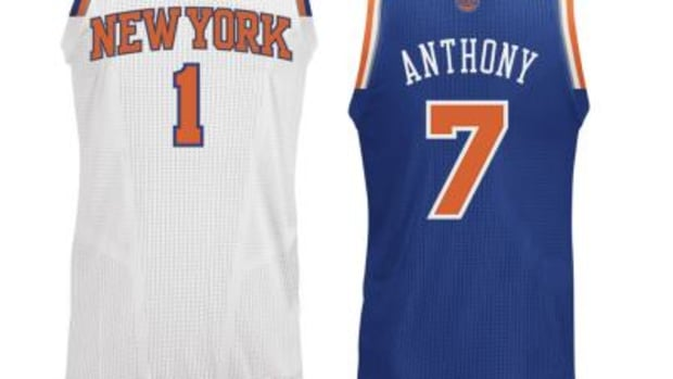 New York Knicks Unveil New Uniforms For the 2012-13 Season
