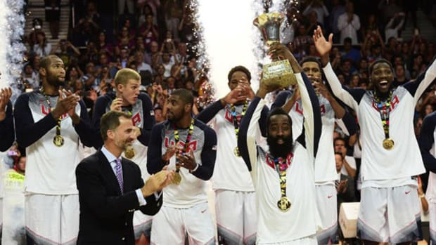 Men's US Basketball Team Wins Gold in FIBA World Cup