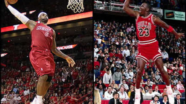 LeBron vs. Jordan: Can Number 6 Win Six Like 23?