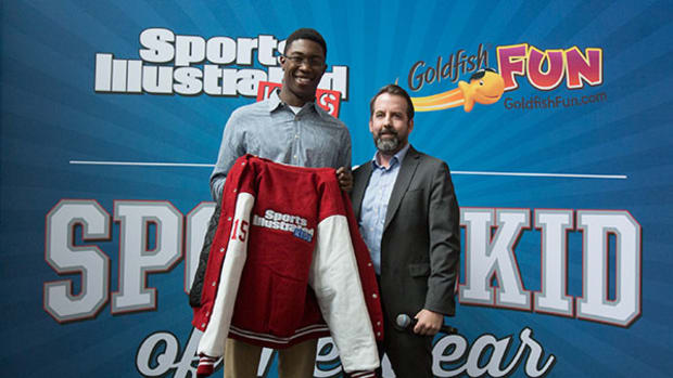 SportsKid of the Year Reece Whitley Honored in Philadelphia