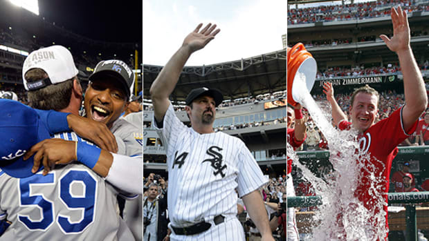 Best Moments from the Final Weekend of MLB's Regular Season
