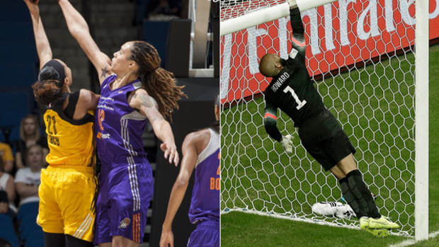 Brittney Griner and Tim Howard: Department of Defense