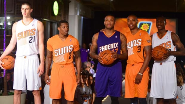 Phoenix Suns and Detroit Pistons Show Off New Looks