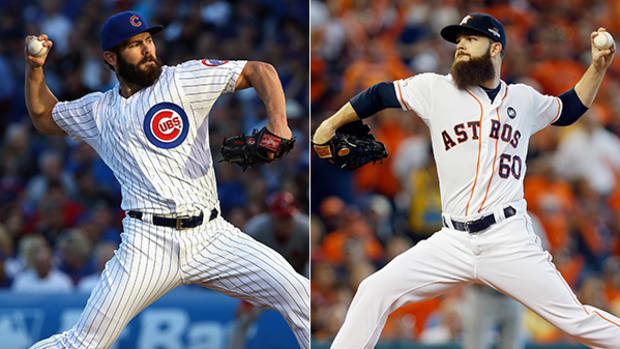 Jake Arrieta and Dallas Keuchel Win 2015 Cy Young Awards